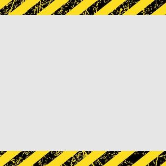 Alert safety frame