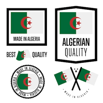 Algeria quality label set