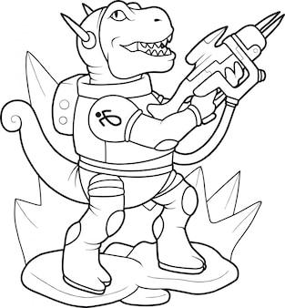 エイリアン恐竜
