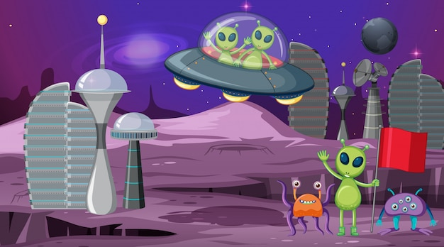Cartoon Alien Images Free Vectors Stock Photos Psd