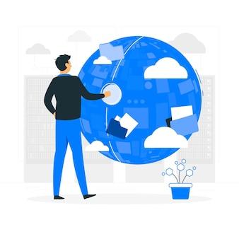 All the dataconcept illustration