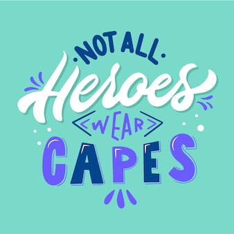 Non tutti gli eroi indossano mantelli