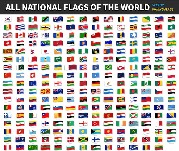 All official national flags of the world .