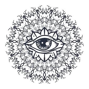 만다라의 모든 보는 눈