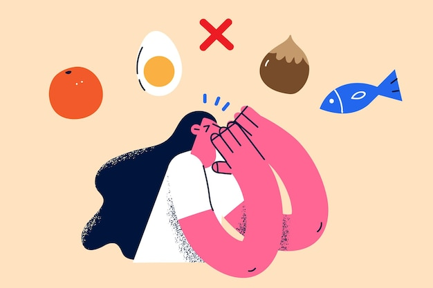 Allergy and special food diet concept