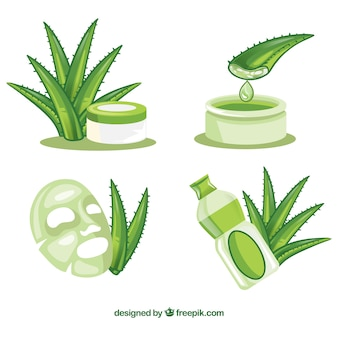 Aloe vera collection
