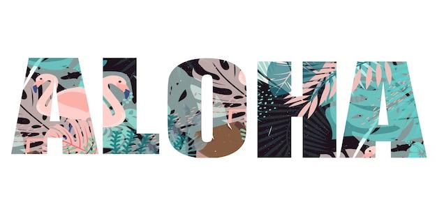 Aloha print