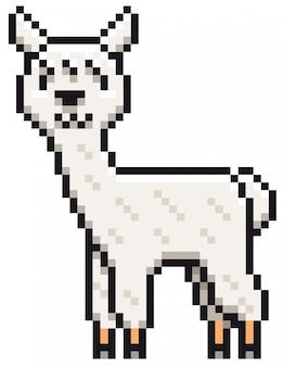 Alpaca cartoon
