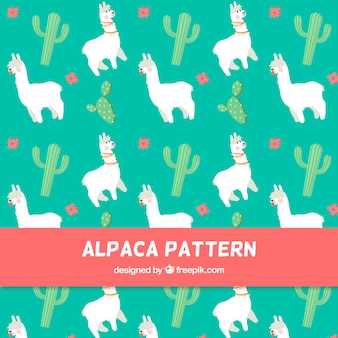 アルパカパターンデザイン