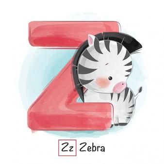 Alphabet animal - z
