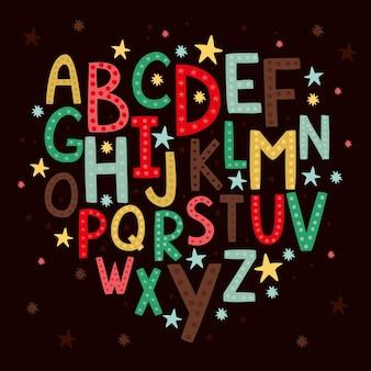 어린이를위한 알파벳