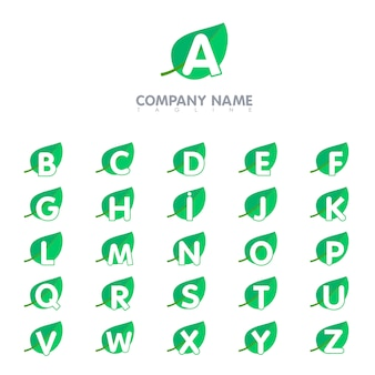알파벳 문자 로고