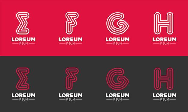 Alphabets logo branding  for the education