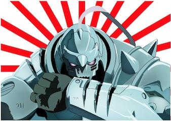 Alphonse Elric Fullmetal Alchemist vector