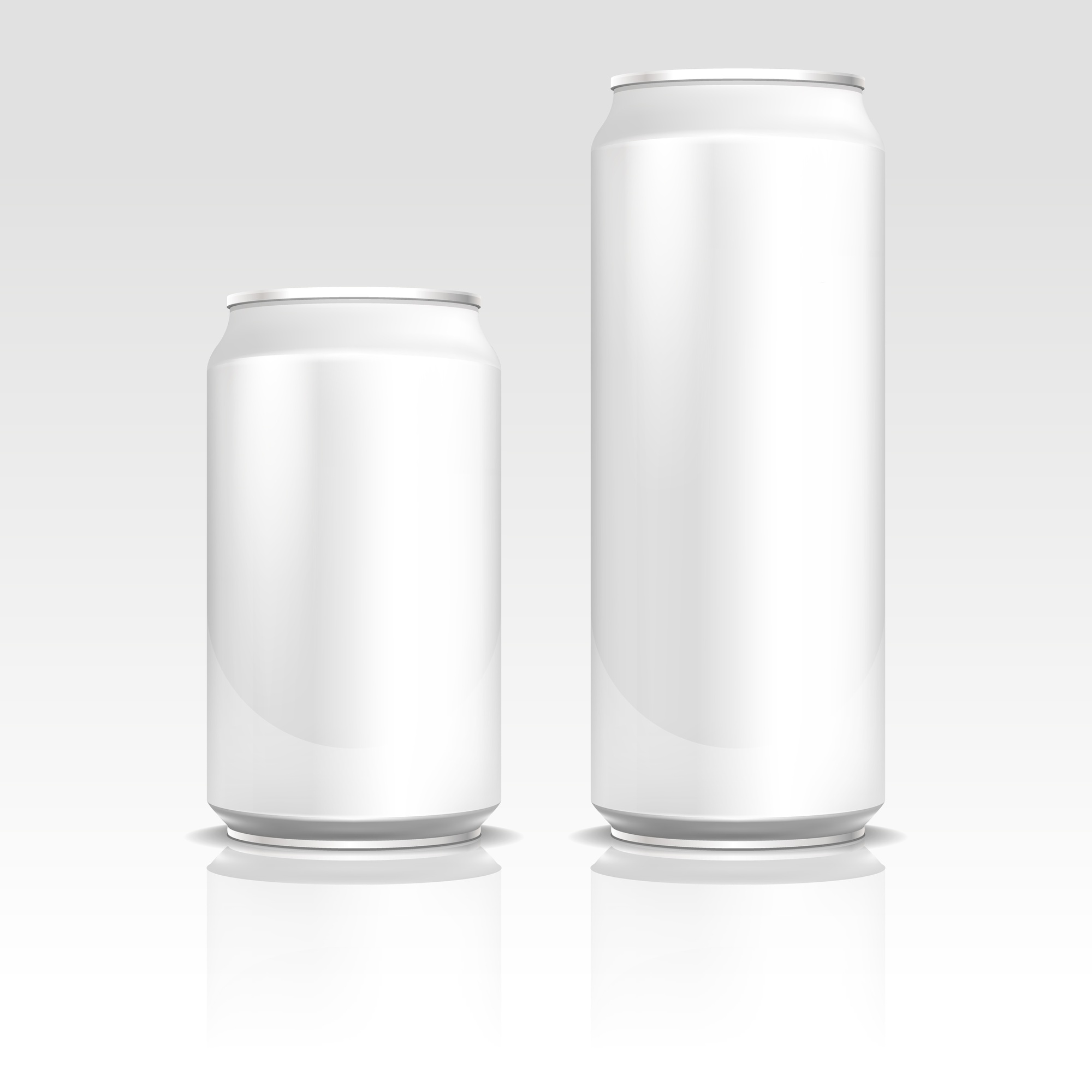 Aluminum energy drink soda beer cans