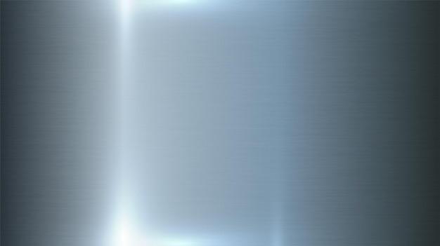Алюминий, промышленная текстура, матовый металл, серебристая сталь или железная поверхность с реалистичной подсветкой