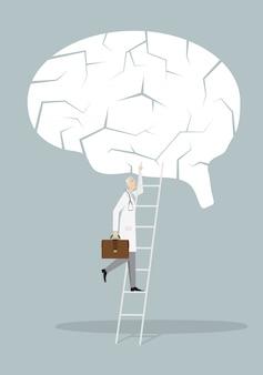 Alzheimer treatment concept