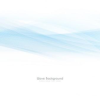 Luce di colore blu disegno di sfondo onda elegante