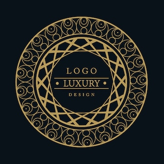 Векторные amazing luxury logo designs