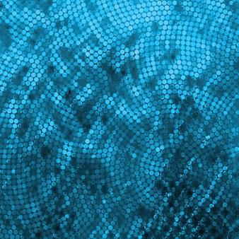 Удивительный дизайн шаблона на синем блестящем.