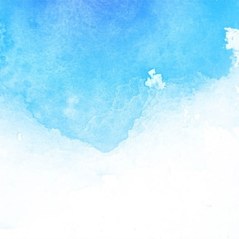 Amazing watercolor texture, light blue