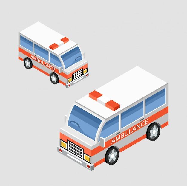 Ambulance car.