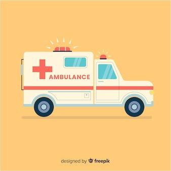 Concetto di ambulanza