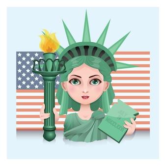 America background design