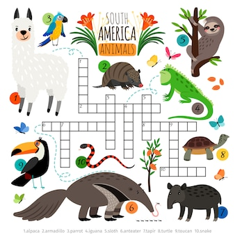 American animals crossword