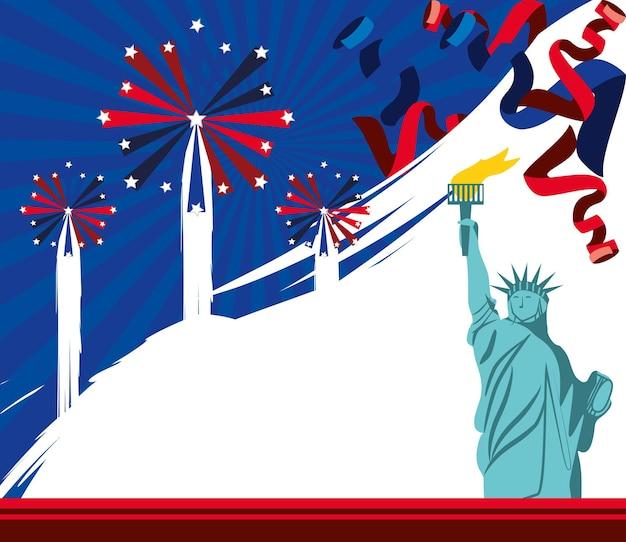 American festive celebration
