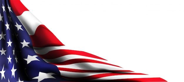 アメリカの国旗の装飾7月4日のお祝いの独立記念日販売促進バナーオンラインショッピング