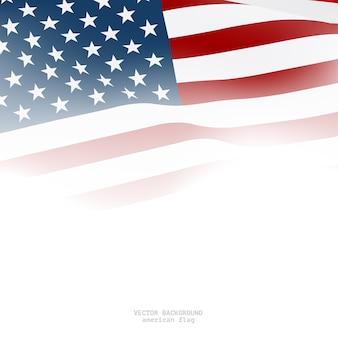 装飾のためのアメリカの旗