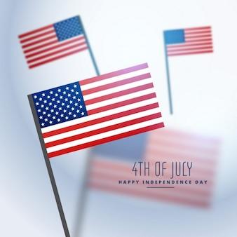 Фон американские флаги