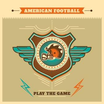 Американский футбол фон