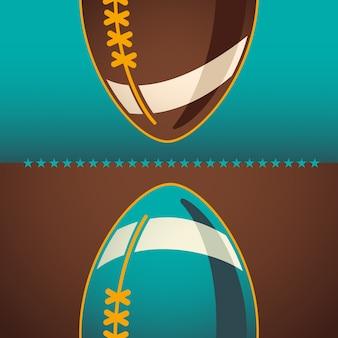 アメリカンフットボールの背景