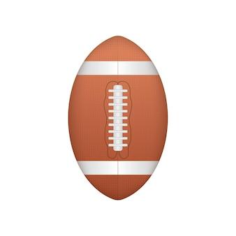 Мяч для американского футбола, отличный дизайн для любых целей