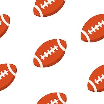 American football ball   pattern. sport   design.