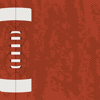 American football design over brown   background