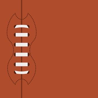 アメリカンフットボールデザイン