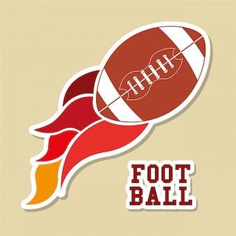 アメリカンフットボールのデザイン