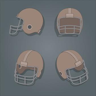 Американский футбольный шлем