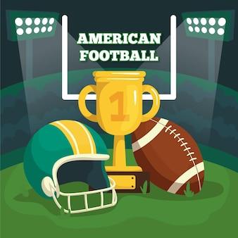 Иллюстрация американского футбола