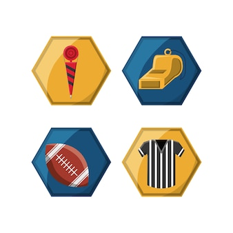American football related icons