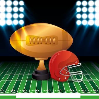 American football sport icon