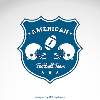 American football team emblem