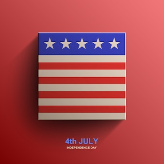 American independence day background, american flag,