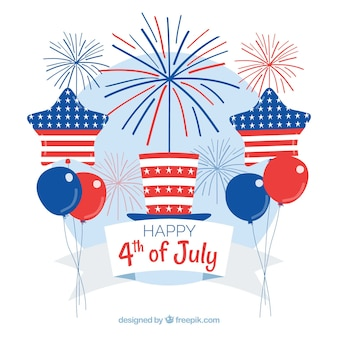 American independence day composition
