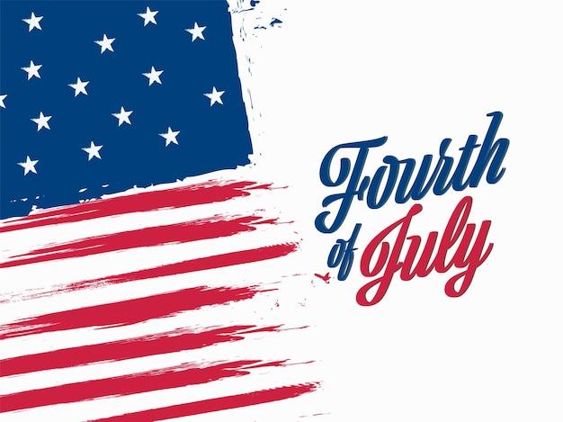 アメリカ独立記念日のコンセプト。 Premiumベクター