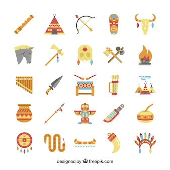 American indigenous elements