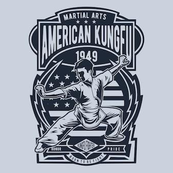 American kungfu